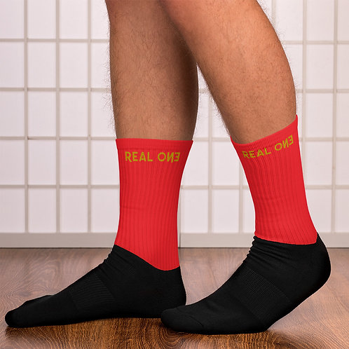 LUSU Designs Sock Collection Real One Label XIV