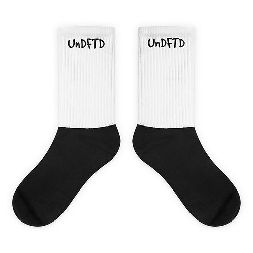 LUSU Designs Sock Collection UnDFTD Black Label