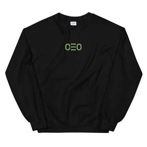 LUSU Designs Unisex Sweatshirt Collection CEO Kiwi Label II