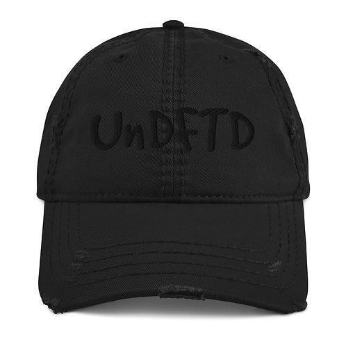 LUSU Designs Distressed Dad Hat Collection UnDFTD Noir Label