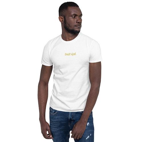LUSU Designs S/S Unisex T-Shirt Collection Trust God. Midas Label