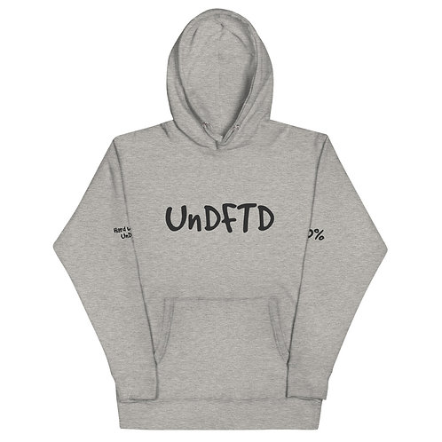 LUSU Designs Unisex Hoodie Collection UnDTFD Noir Label II
