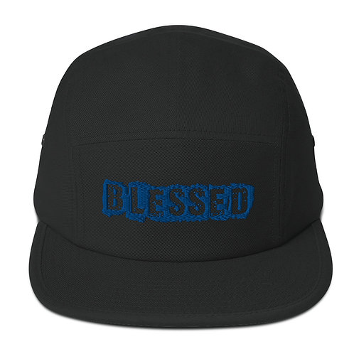 LUSU Designs 5 Panel Camper Collection Blessed Royal Label