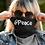 Thumbnail: LUSU Designs Neck Gaiter @Peace Blanco Label
