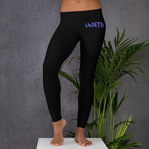 LUSU Designs Women's Leggings UnDFTD Purple Label II