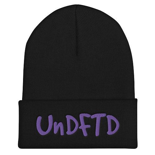 LUSU Designs Cuffed Beanie Collection UnDFTD Purple Label