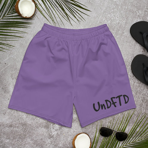 LUSU Designs Men's Athletic Long Shorts Collection UnDFTD Label VI