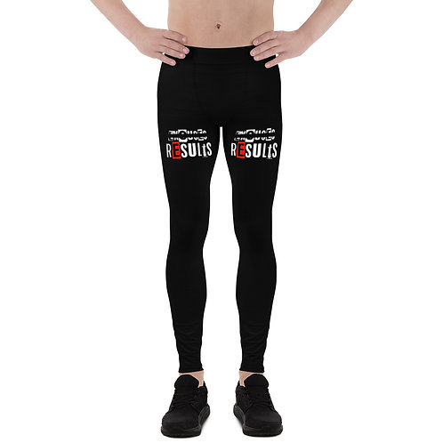 LUSU Designs Men's Leggings Results Fire Label III