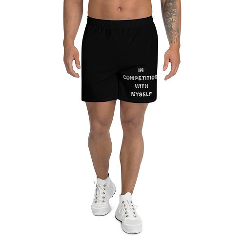 LUSU Designs Men's Athletic Shorts Collection Better Everyday Blanco Label III