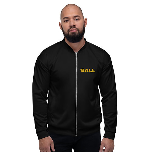 LUSU Designs Unisex Bomber Jacket Collection Ball Out Midas Label I