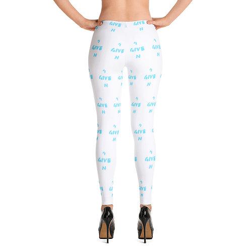 LUSU Designs Women's Leggings 4GIVEN Azure Label II