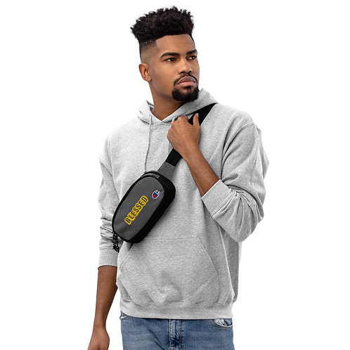 LUSU Champion Fanny Pack Blessed Midas Label