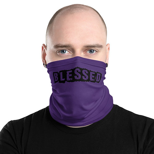 LUSU Designs Neck Gaiter Blessed Noir Label V