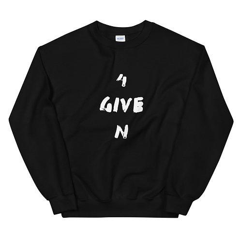 LUSU Designs Unisex Sweatshirt Collection 4GIVEN Blanco Label