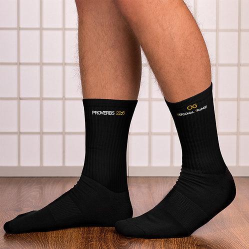 LUSU Designs Sock Collection Fatherhood OG Personal Trainer Combo Label III
