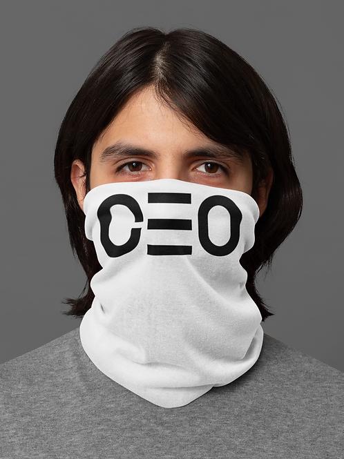 LUSU Designs Neck Gaiter CEO Noir Label