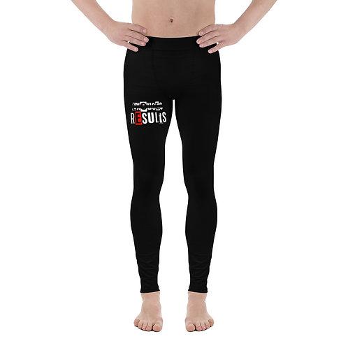 LUSU Designs Men's Leggings Results Fire Label I