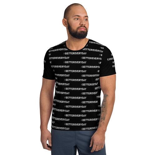 LUSU Designs Men's Athletic MaxDri T-shirt Better Everyday Label IV