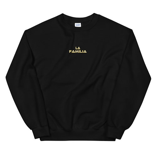 LUSU Designs Unisex Sweatshirt Collection La Familia Label IV