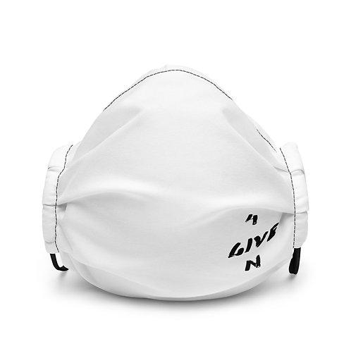LUSU Designs Premium Face Mask 4GIVEN Noir Label III