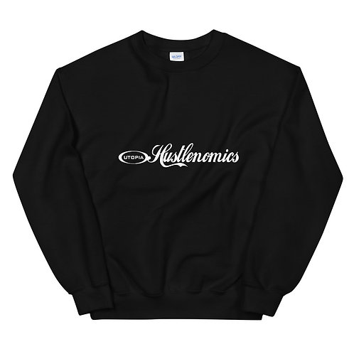 LUSU Designs Unisex Sweatshirt Collection Hustlenomics II Label