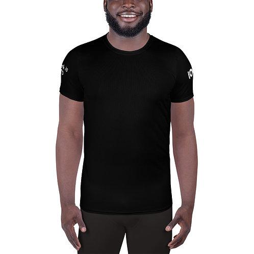 LUSU Designs Men's Athletic T-shirt UnDFTD Blanco Label III