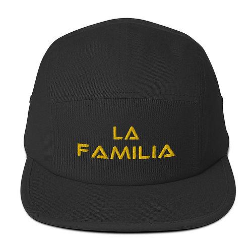 LUSU Designs Five Panel Cap Collection La Familia Label II