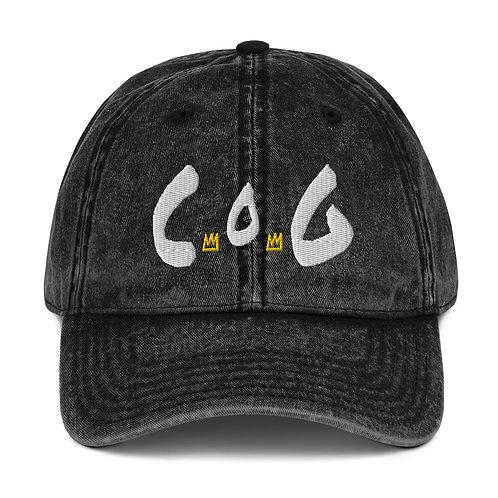 LUSU Designs Vintage Cotton Twill Cap Collection Child of God Blanco Label