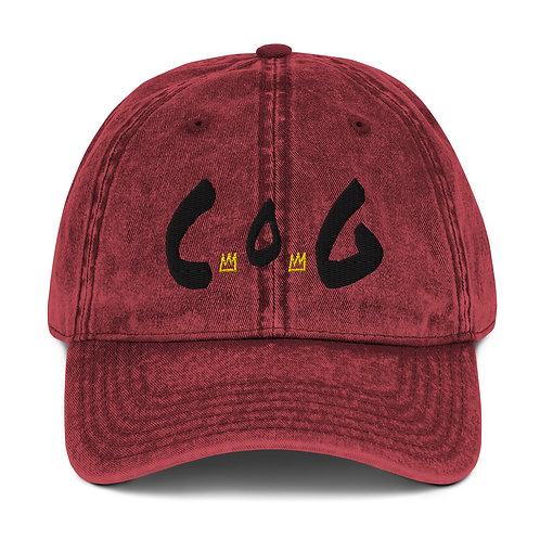 LUSU Designs Vintage Cotton Twill Cap Collection Child of God Noir Label