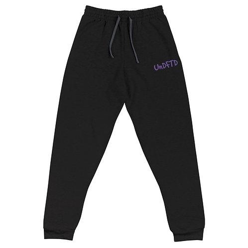 LUSU Designs Unisex Joggers UnDFTD Purple Label