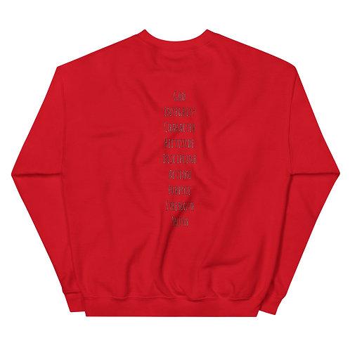 LUSU Designs Unisex Sweatshirt Collection M.O Noir Label II