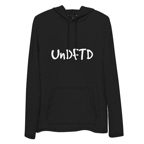 LUSU Designs Unisex Lightweight Hoodie Collection UnDFTD Blanco Label I