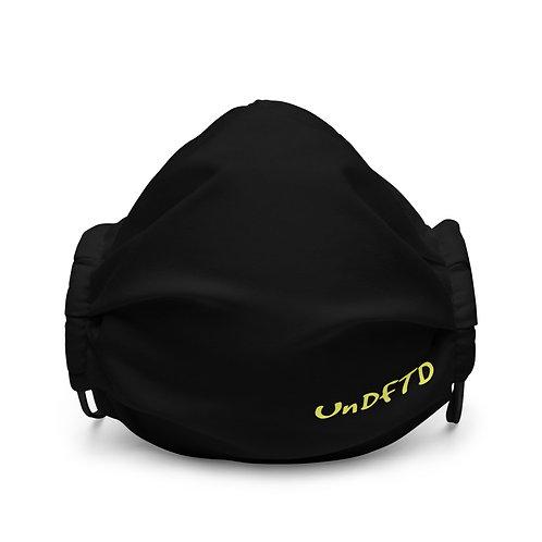 LUSU Designs Premium Face Mask UnDFTD Canary Label III