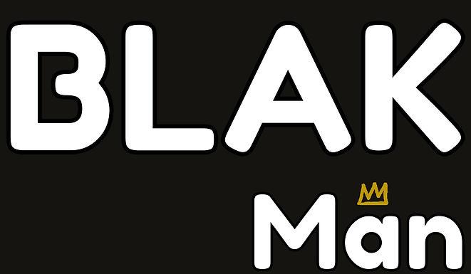 BLAK Man Label