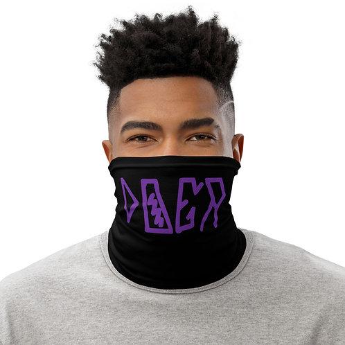LUSU Designs Neck Gaiter Doer Purple Label