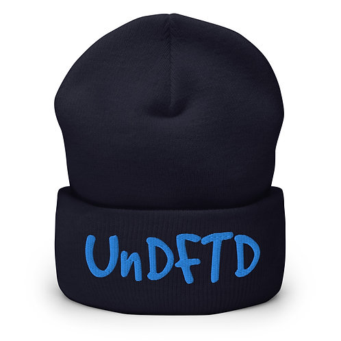 LUSU Designs Cuffed Beanie Collection UnDFTD Aqua Label