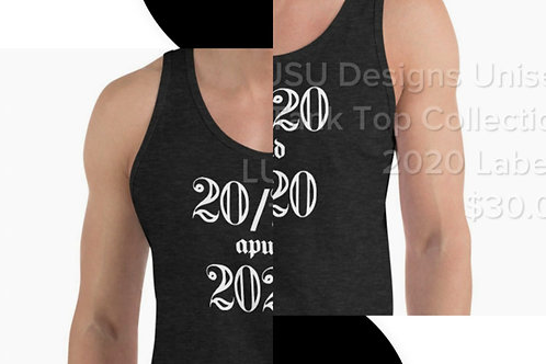 LUSU Designs Unisex Tank Top Collection 2020 Label I