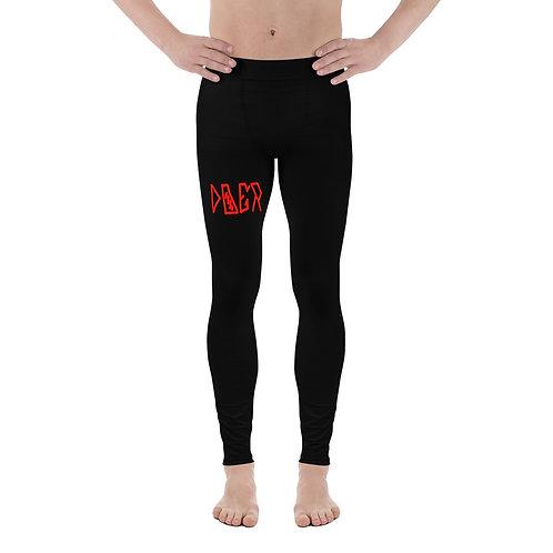 LUSU Designs Men's Leggings Doer Fire Label I
