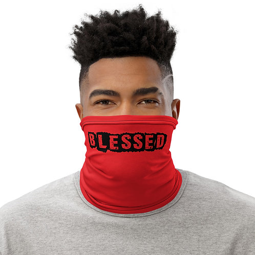 LUSU Designs Neck Gaiter Blessed Noir Label II
