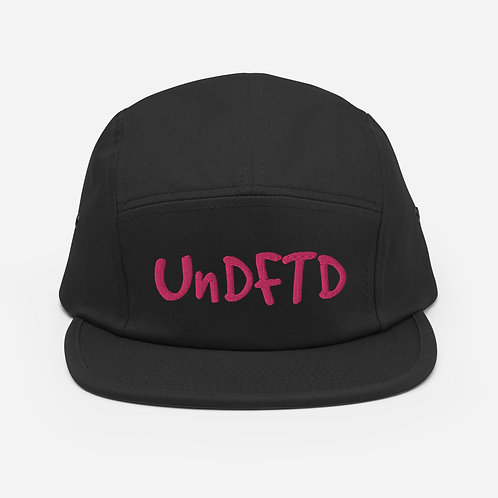 LUSU Designs Five Panel Cap Collection UnDFTD Miami Nights Label
