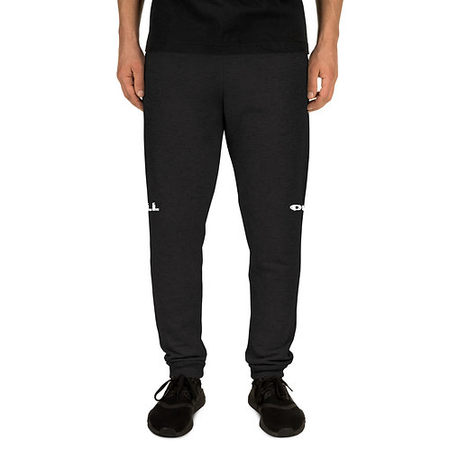 LUSU Designs Unisex Joggers Collection Ball Out Blanco Label I
