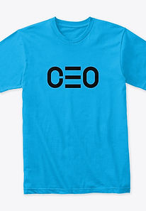 CEO premium tee- teal blue.jpg