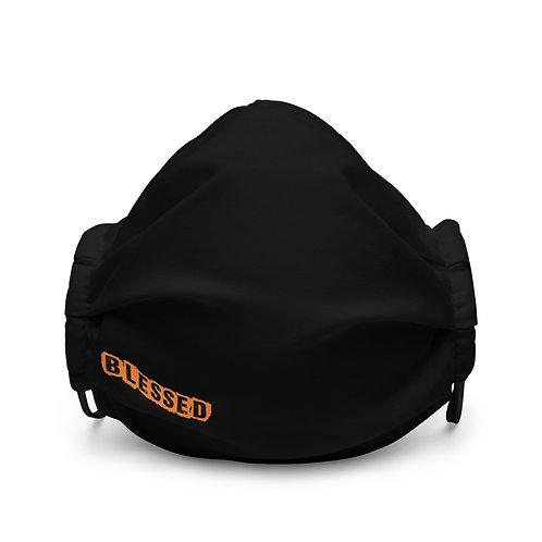 LUSU Designs Premium Face Mask Blessed Tangerine Label II