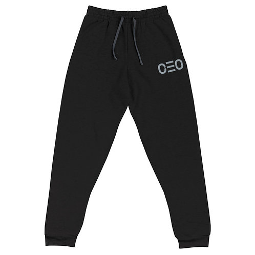 LUSU Designs Unisex Joggers CEO Platinum Label