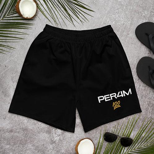 LUSU Designs Men's Athletic Long Shorts Collection PER4M Midas Label I
