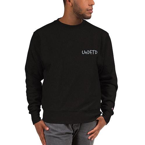 LUSU Designs Champion Sweatshirt Collection UnDFTD Platinum Label