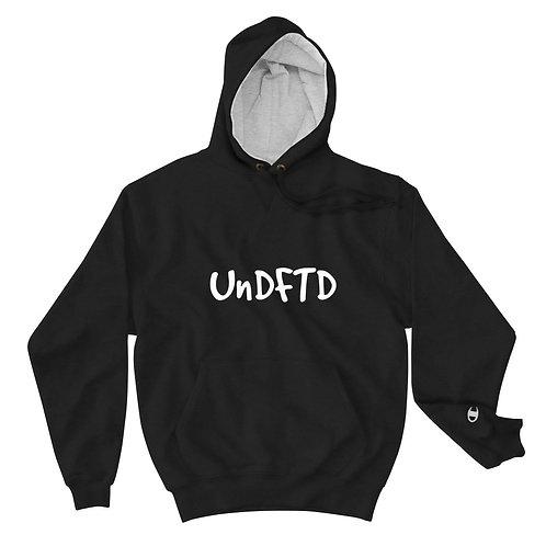 LUSU Designs Champion Hoodie Collection UnDFTD Label