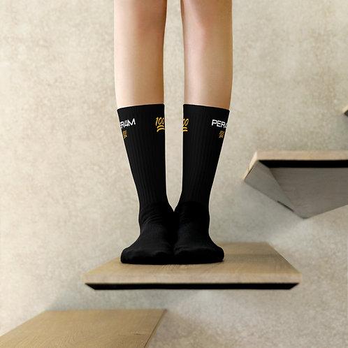 LUSU Designs Sock Collection PER4M Midas  Label II