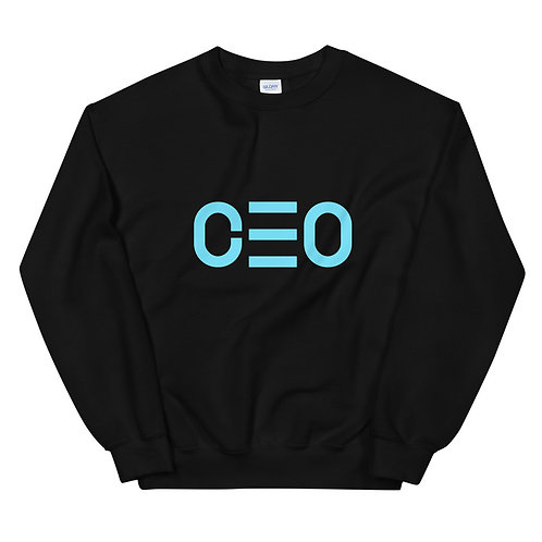 LUSU Designs Unisex Sweatshirt Collection CEO Azure Label