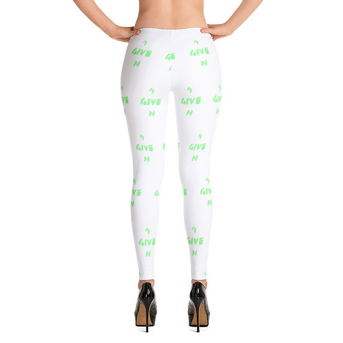 LUSU Designs Women's Leggings 4GIVEN Kiwi Label II
